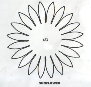 Sunflower 673 (70mm)Also useful for making Gerbera - TinkerTech Two Cutters