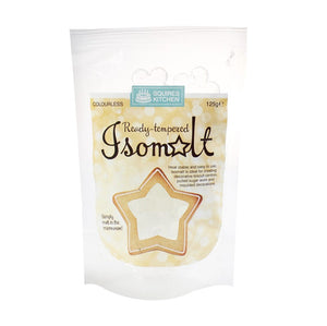 Isomalt Ready tempered Colourless - (Squires Kitchen) 125 grams
