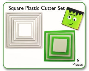 PME Cutters - Square (set of 6)