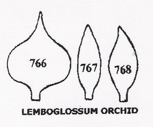 Orchid - Lemboglossom 766/767/768 (30mm).  TinkerTech Two Cutters