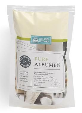 Pure Albumen - Squires Kitchen  100g