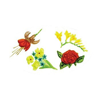 FMM Embossers - Flowers 2 set of 4