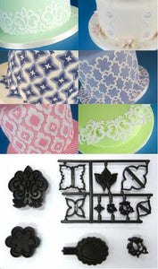 Patchwork Cutters - Mix and Match Side Design Set