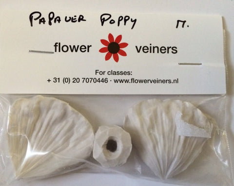 Papaver Poppy Petal Veiner Medium by Flower Veiners (Netherlands)