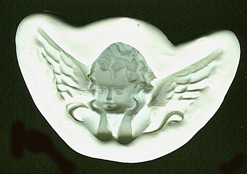 Diamond Paste Moulds - Cherub Large  70mm x 40mm