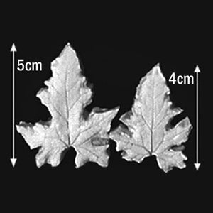 Great Impressions (SK) Leaf Veiners - Bryony-White - set of 2 5cm/4cm.  GM01B008-07