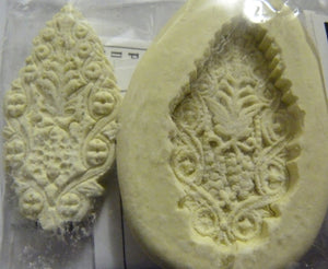 Diamond Paste Moulds - Lacy leaf - Medium