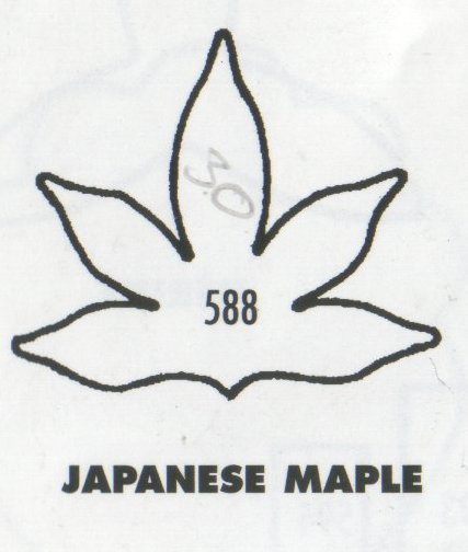 Japanese Maple Leaf 588 (30mm) - TinkerTech Two Cutters