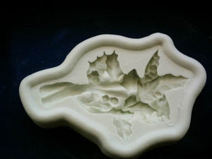 Diamond Paste Moulds - Holly Bough - SALE
