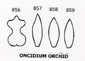 Orchid - Oncidium 856/857/858/859 (20mm).  TinkerTech Two Cutters
