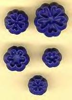 Primula, Blossom, set of 5 (A4).  Jem Cutters