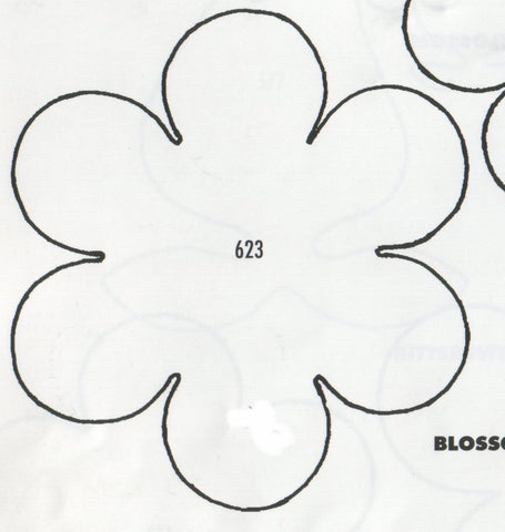 Blossom 6 Petalled 623 (75mm).  TinkerTech Two Cutters