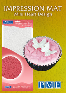 PME Mini Heart Design Impression Mat