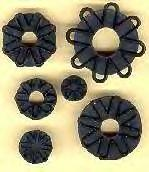 Jem Cutters Chrysanthemum / Daisy Flower and Leaf (set of 7) B11