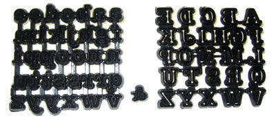 Patchwork Cutters - Alphabet Cutters Tubby