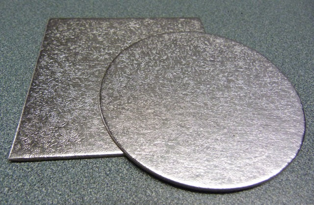 Cut Edge Card - Round and Square