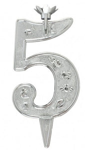 "Candle Holder 3"" Number with Zodiac Design"