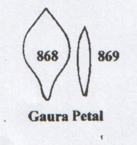 Gaura Petal 868/869 (27mm, 20mm).  TinkerTech Two Cutters