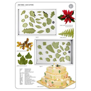 Jem Cutters 40 Leaf cutters (light green) Boxed set 3