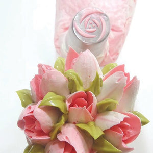 Bakeless Rose Nozzle  TO ORDER ONLY PLEASE ALLOW 1 WEEK.