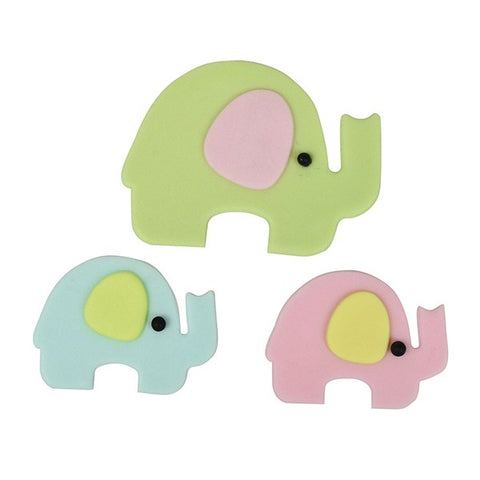FMM Cutters - Mummy & Baby Elephant Cutter - 4 Set