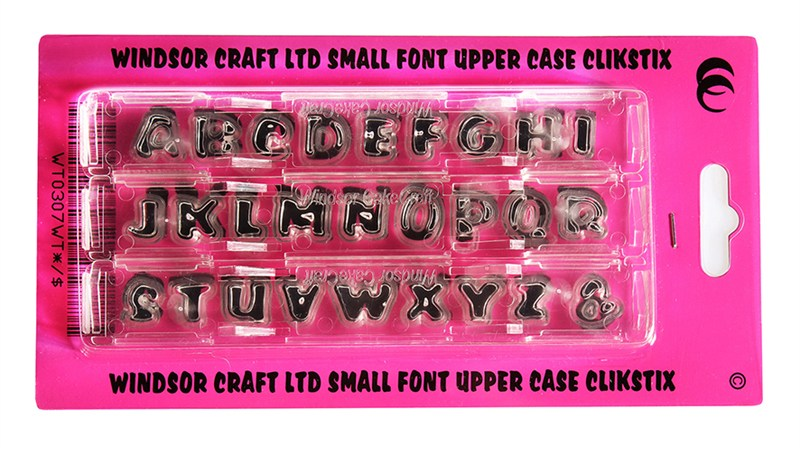 Clikstix - Alphabet - Small Lettering Upper Case WHILE STOCKS LAST