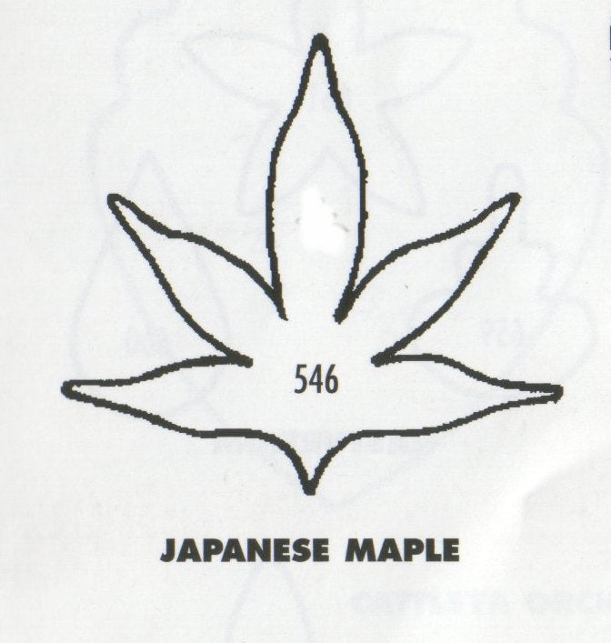 Japanese Maple Leaf 546 (45mm) - TinkerTech Two Cutters