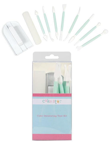 Cake Star Tool Kit - set of 10