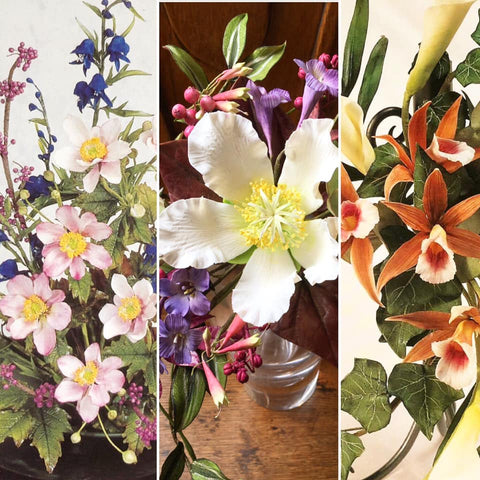 NOW FULL  Summer School - A 6 day Masterclass in Flower Making with Alan Dunn. August 12th - August 17th 2019