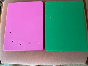 Foam Pad - Double sided Pink and Green