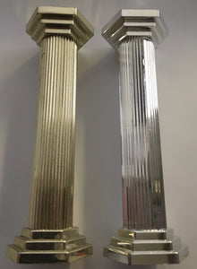 "Hamilworth Plastic Pillars 5"" - Silver  or Gold"