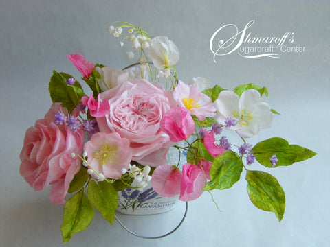 Wafer Paper Flowers - with Petya Shmarova.  June 23rd and 24th