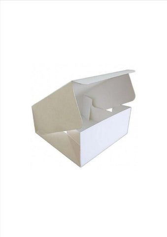 "Cake Box with Integral Lid -  10""  (Pop Up Cake Box) 3"" Deep"