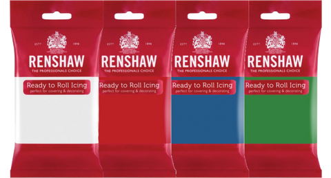 Ready-to-Roll Icing (Fondant) - Renshaw's Sugarpaste