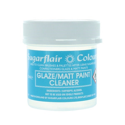 Sugarflair - Glaze/Matt Paint Cleaner  50ml