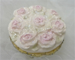 Karen Davies Mould - Piped Rose Cupcake Top SALE