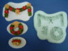 Benison Moulds - Christmas Garland, Wreath and Bells