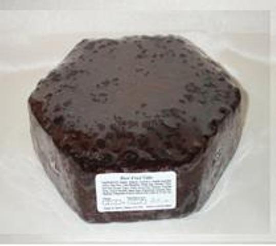 Ready to Ice Fruit Cakes - Hexagonal - 11""