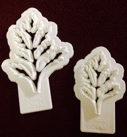 Daisy Leaves set of 2 - Diamond Paste and Mould Co.