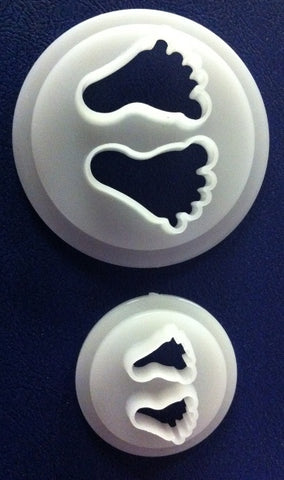 FMM Cutters - Baby Feet set of 2