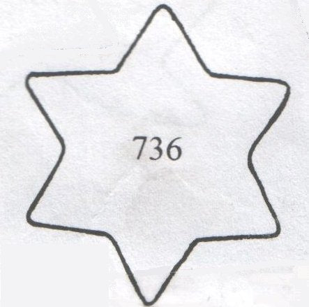 TinkerTech Two Cutters - Star of David 736 (40mm)