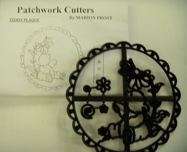Patchwork Cutters - Teddy Plaque
