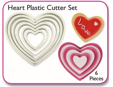 PME Cutters - Heart (set of 6)