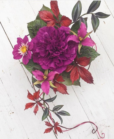Summer School - A 6 day Masterclass in Flower Making with Alan Dunn. August 6th - August 11th 2018