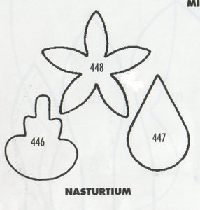 Nasturtium 446/447/448 (35mm).  TinkerTech Two Cutters