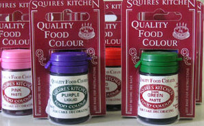 Squires Kitchen Quality Food Colour (QFC) - Paste (Gel) no longer stocked so only limited amounts