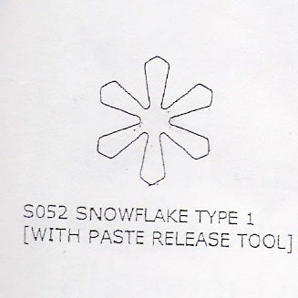 Kit Box Cutters - Snowflake Type 1