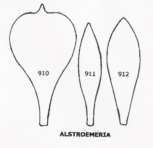 Alstroemeria 910/911/912 (65mm).  TinkerTech Two Cutters