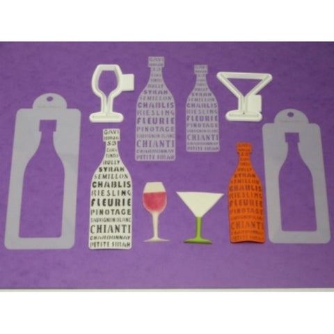 Benison Stencil and Cutter set - Connoisseur Wine and Cocktails