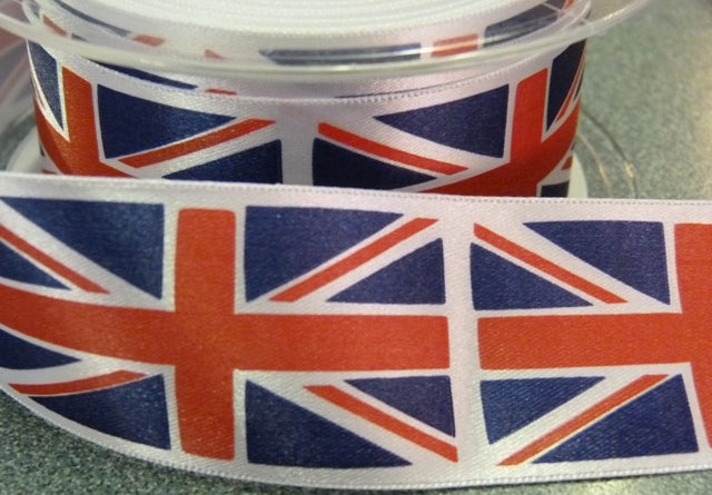 38mm Union Jack Ribbon